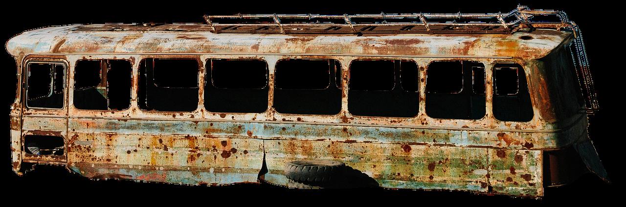 古びたバス