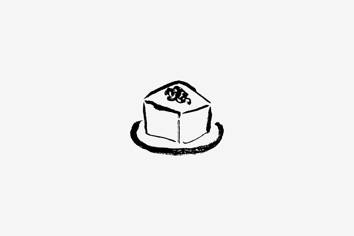 豆腐のイラストレーション