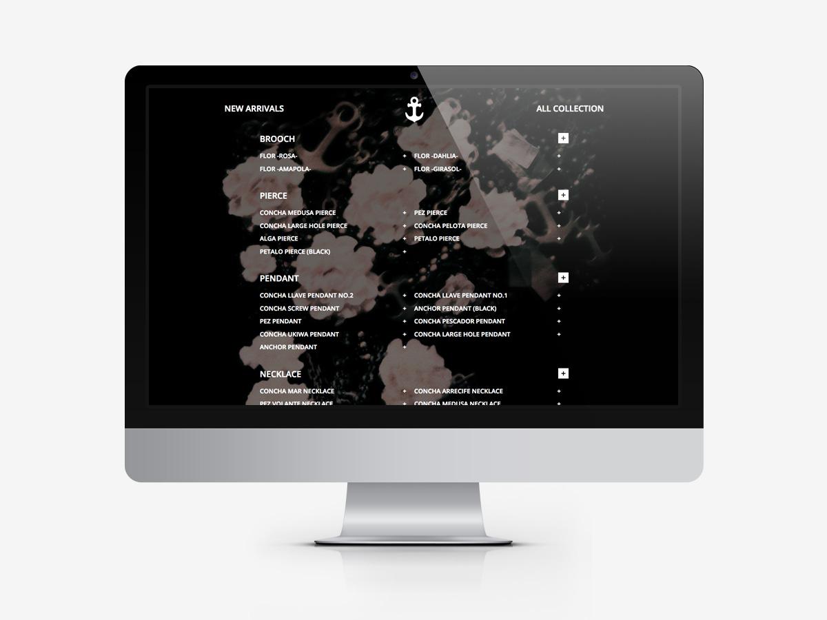 islajp.comの「サイトマップ」ページ