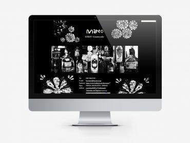 BAR MAREO Webサイトのスライドコンテンツ