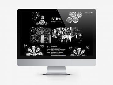 BAR MAREO Webサイトのスライドコンテンツ「店内」